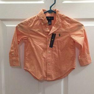 Ralph Lauren Button Down Shirt for Toddler